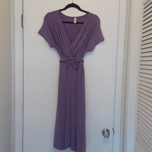 Merona plus size maternity dress. Lilac